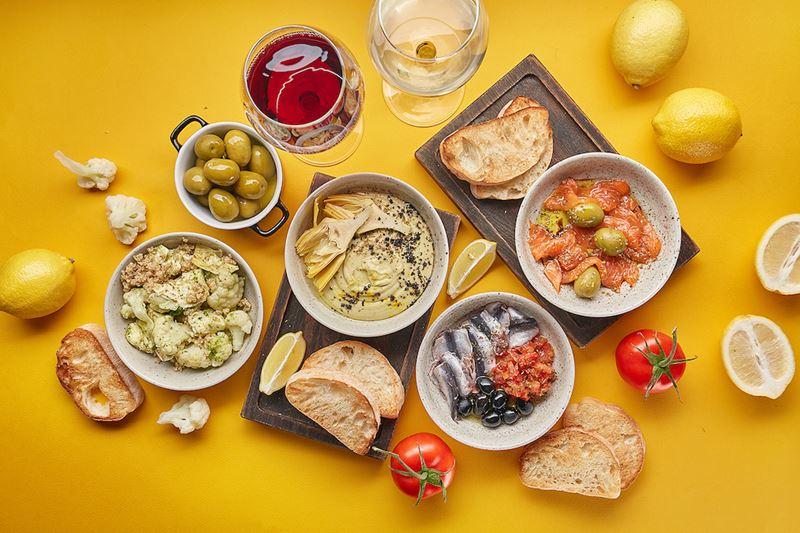 Меню «Римские каникулы» в итальянских кафе «Руккола» - 15 июля-30 августа 2019, Москва