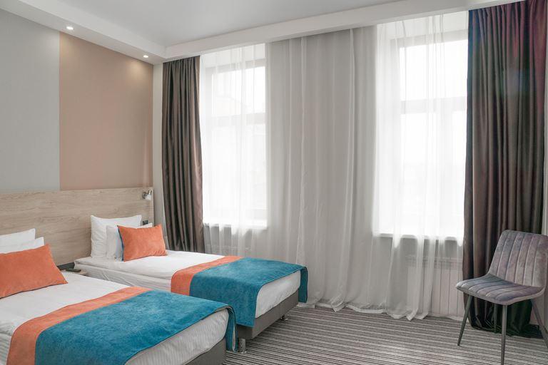 Station Premier V18 – новый отель «4 звезды» в Санкт-Петербурге - двухместный номер
