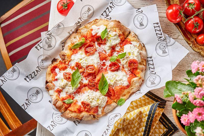 Новое место в Москве: римская пиццерия Pizza Si на Проспекте Мира - пицца «Страчателла»