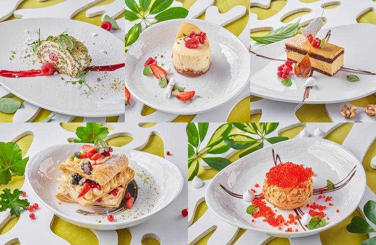 Новые десерты в меню плавучего ресторана ERWIN.Река (Москва)