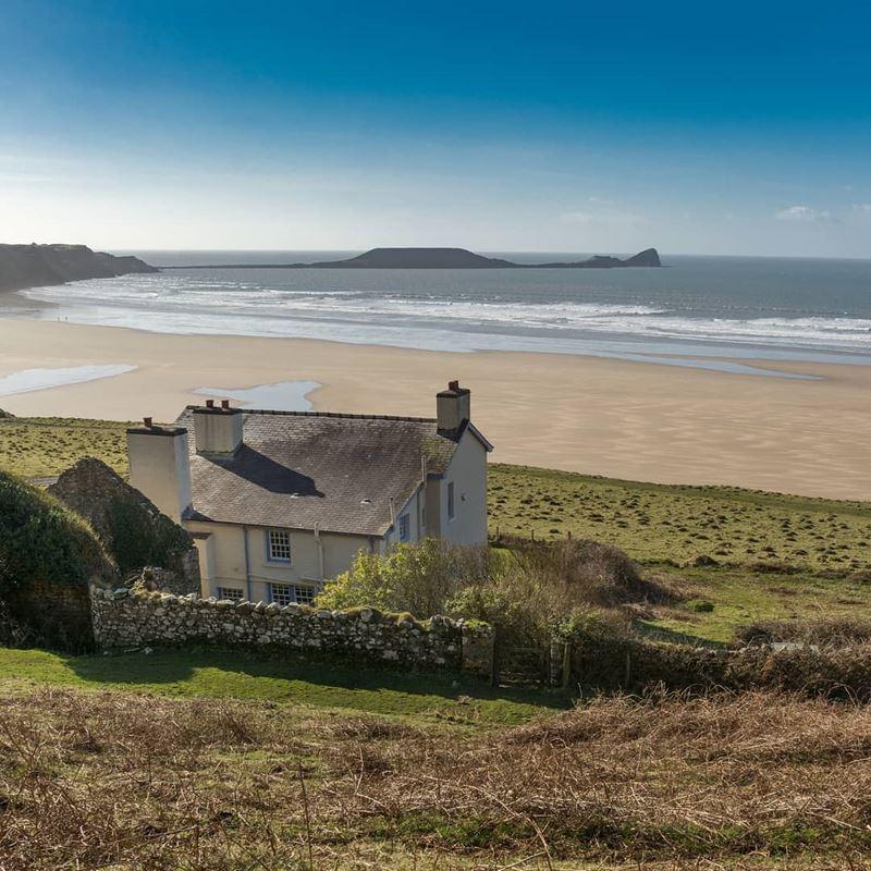 Топ-15 самых красивых пляжей Великобритании - Пляж Россили, Гауэр (Уэльс)
