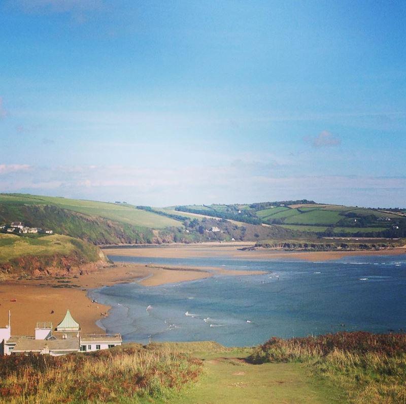 Топ-15 самых красивых пляжей Великобритании - Бигбери-он-Си, Девон (Англия)