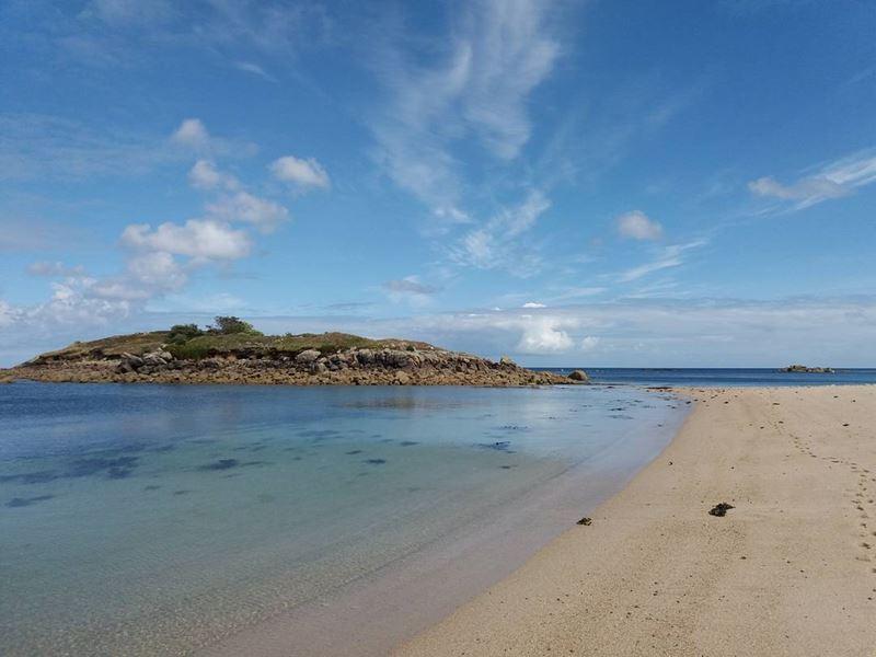 Топ-15 самых красивых пляжей Великобритании - Пелистери Бэй, острова Силли (Англия)
