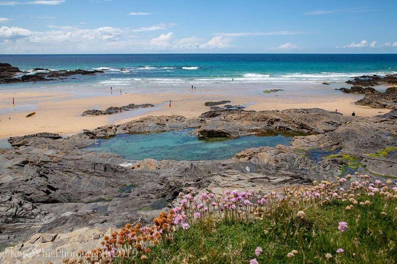 Топ-15 самых красивых пляжей Великобритании - Трейарнон Бэй, Корнуолл (Англия)