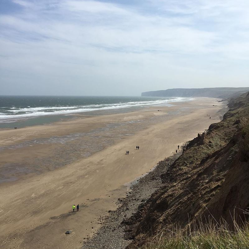 Топ-15 самых красивых пляжей Великобритании - Ханманби, Северный Йоркшир (Англия)