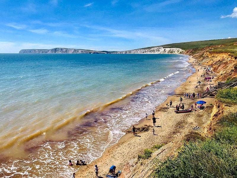 Топ-15 самых красивых пляжей Великобритании - Комптон Бэй, остров Уайт (Англия)