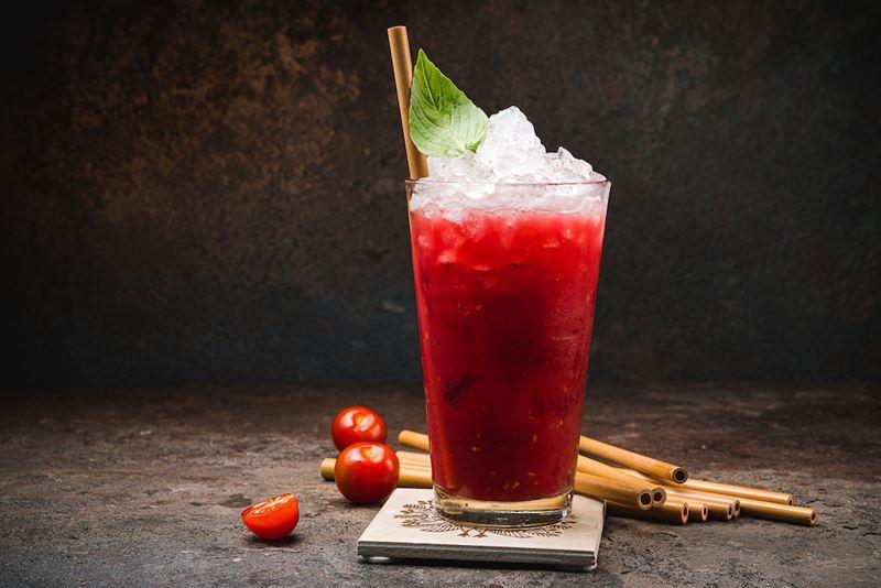 5 рецептов напитков с малиной от ресторанов Москвы - Лимонад Pink Mary от Bar Point от ресторана ICHU