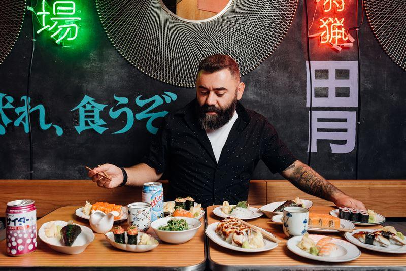 «Русалочка» – новое суши-кафе в Москве - Дмитрий Левицкий