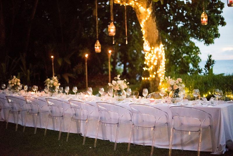 Свадьба на Сейшеллах с MAIA Luxury Resort&Spa - стол