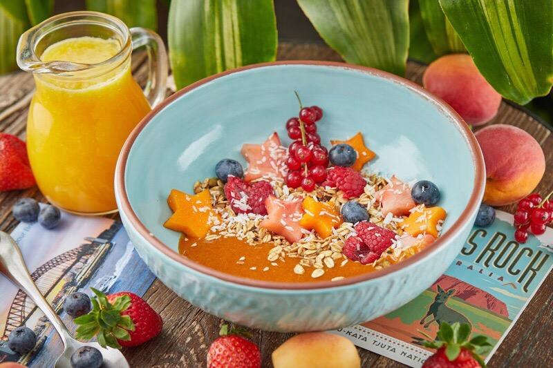 Австралийский завтрак в ресторане Food Embassy