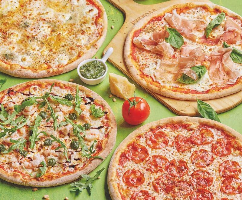 Пицца+вино за 878 рублей в кафе «Руккола»