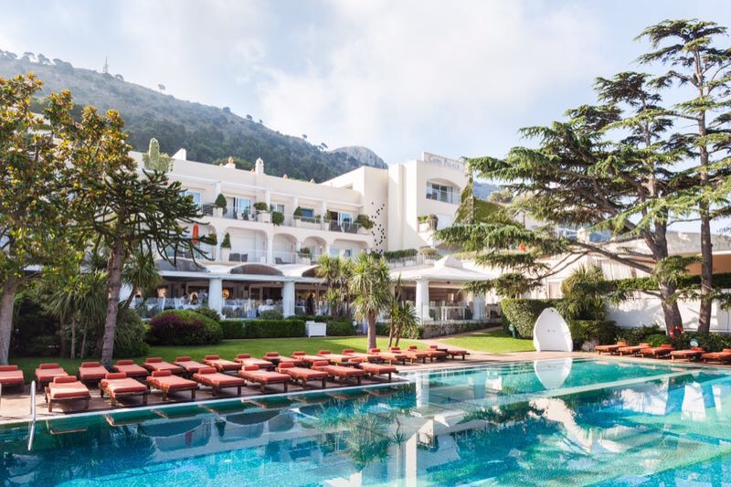 Арт-бассейн в отеле Capri Palace - фото 1
