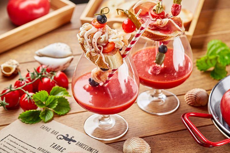 Холодный и томатный: рецепт гаспачо от Barceloneta Tapas Bar