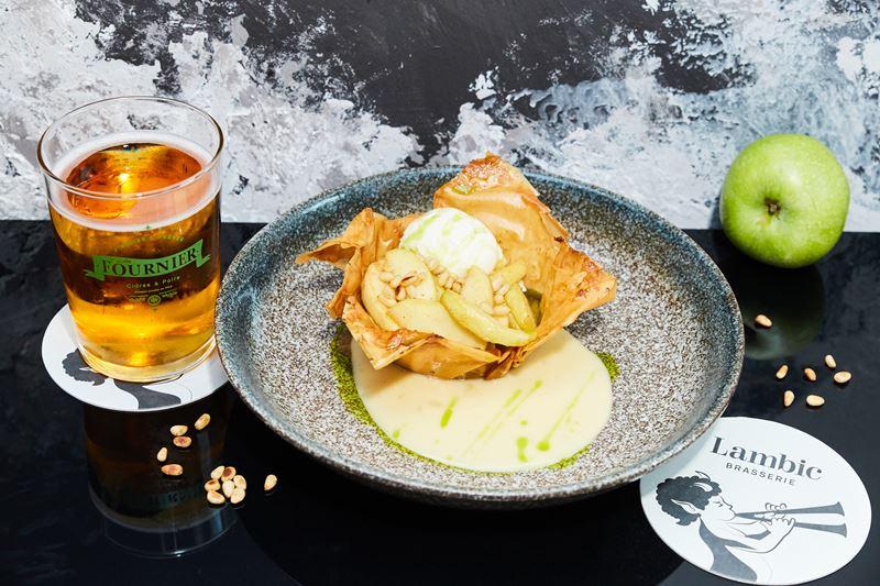 Медовый, яблочный и ореховый Спасы в ресторанах Brasserie Lambic