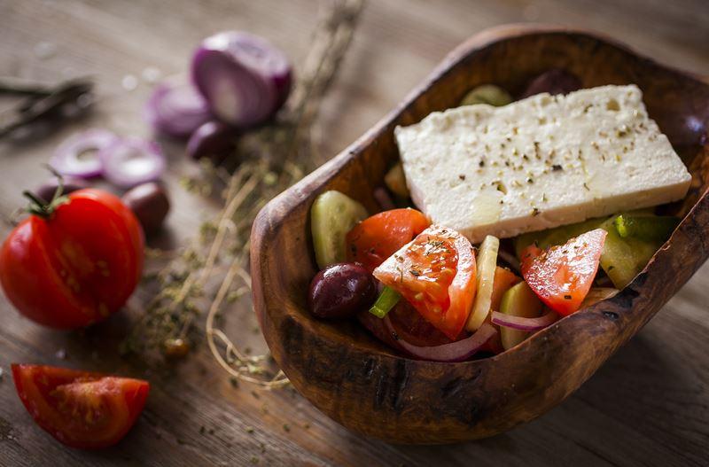 День Греческого салата в ресторане Molon Lave (31 августа 2019)