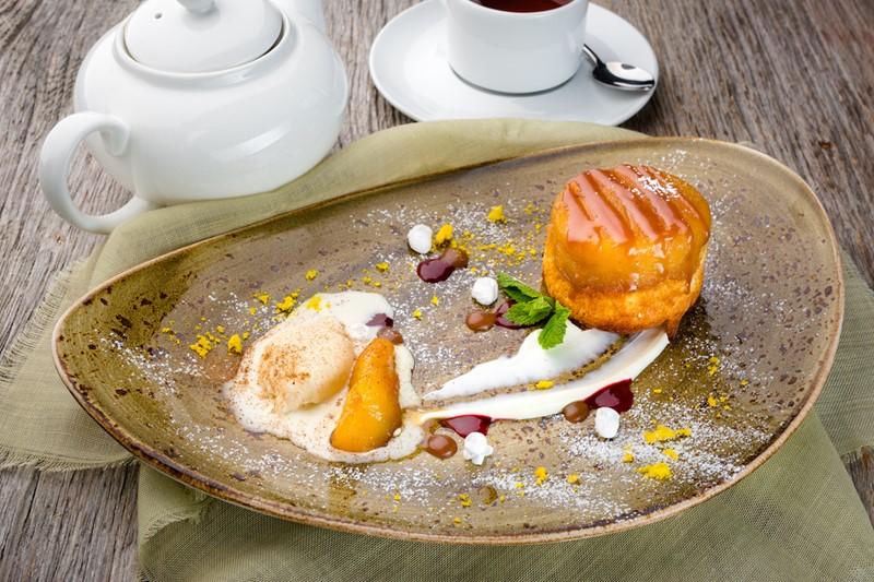 Рецепт шарлотки от ресторана «Шинок»