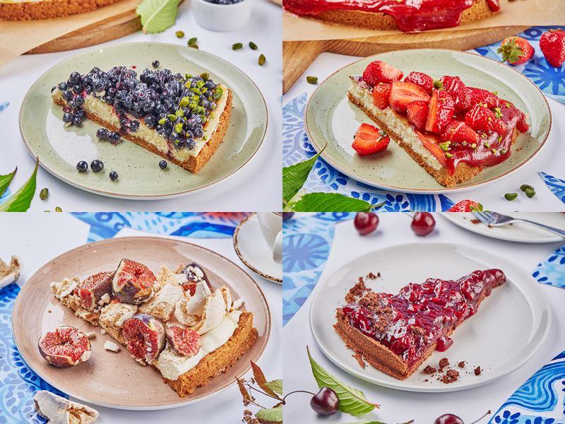 Десерты с ягодами в ресторане «Магадан» на Красном Октябре