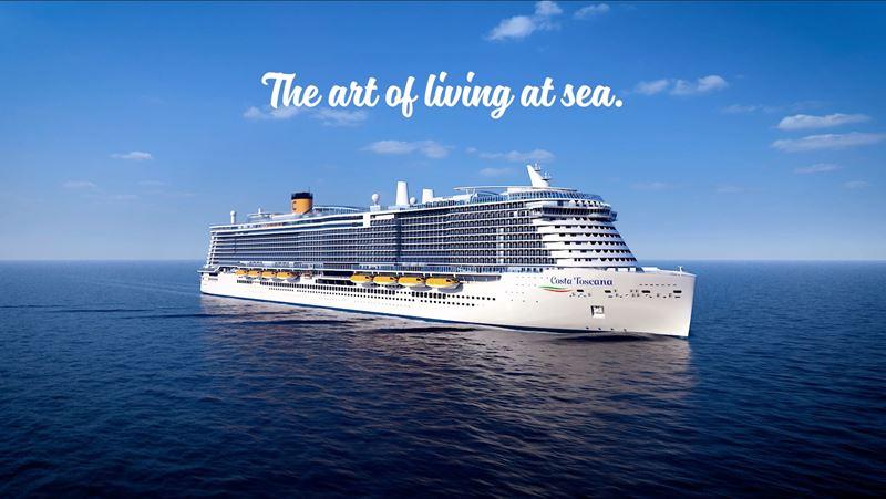 Costa Cruises готовит к запуску экологичный лайнер Costa Toscana