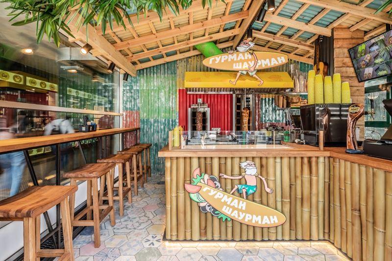 Новое место в Москве: кафе «Гурман Шаурман» - фото 2