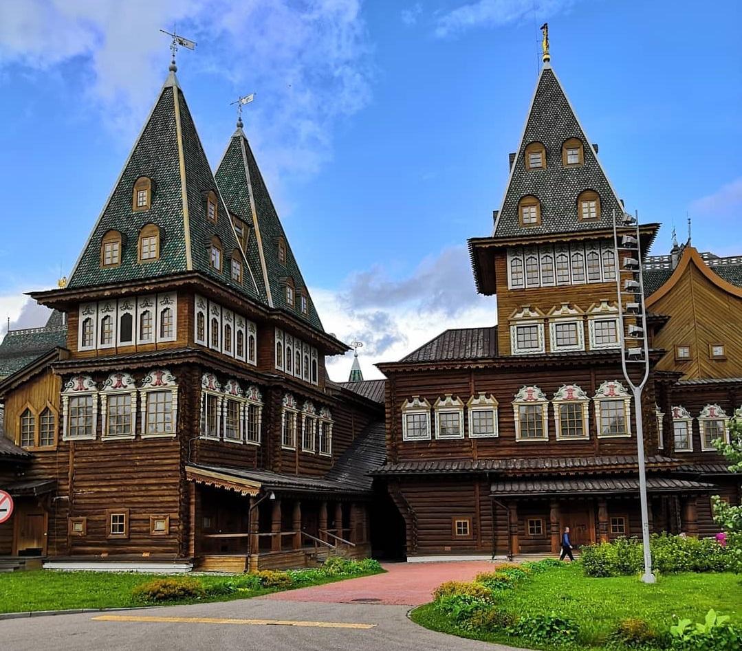 10 любимых мест китайских туристов в Москве - Усадьба Коломенское
