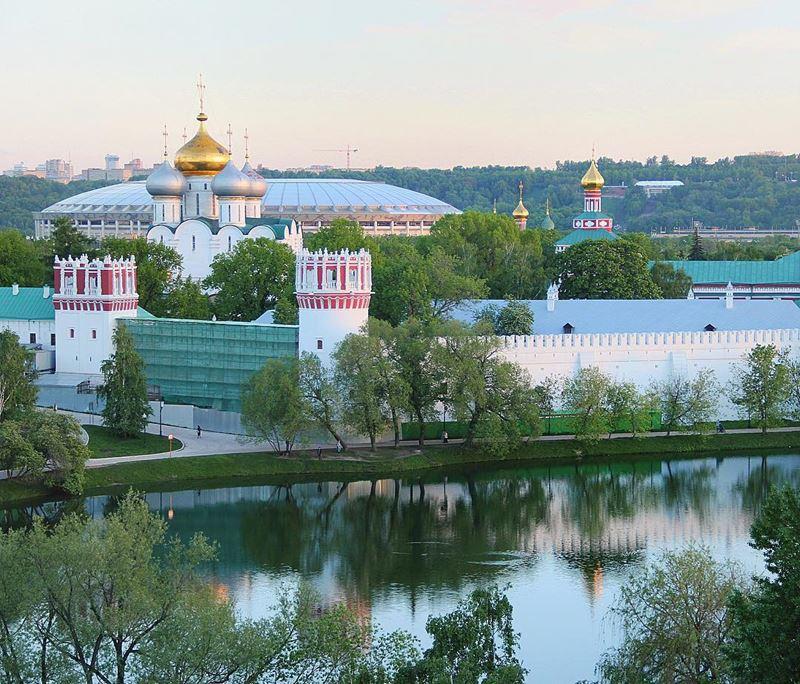 10 любимых мест китайских туристов в Москве - Новодевичий монастырь