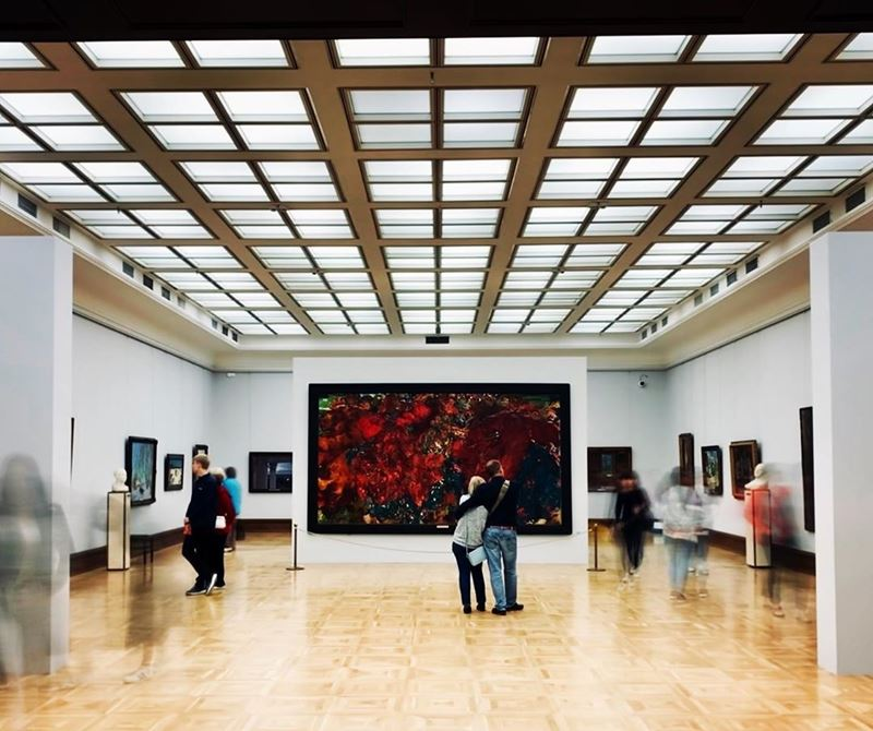 10 любимых мест китайских туристов в Москве - Третьяковская галерея