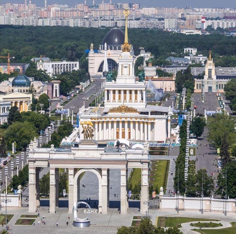 10 любимых мест китайских туристов в Москве - ВДНХ