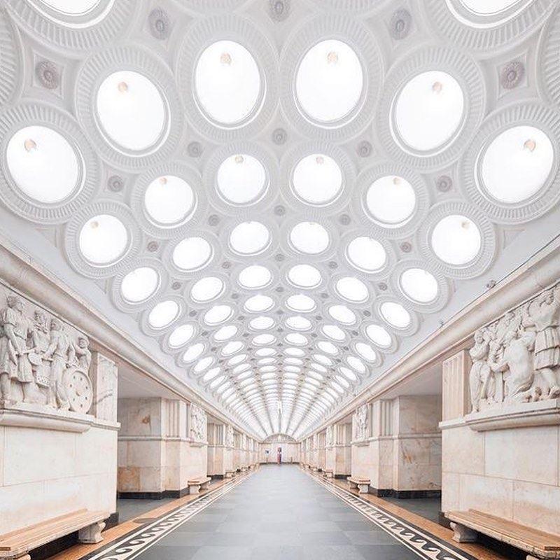 10 любимых мест китайских туристов в Москве - Московский метрополитен