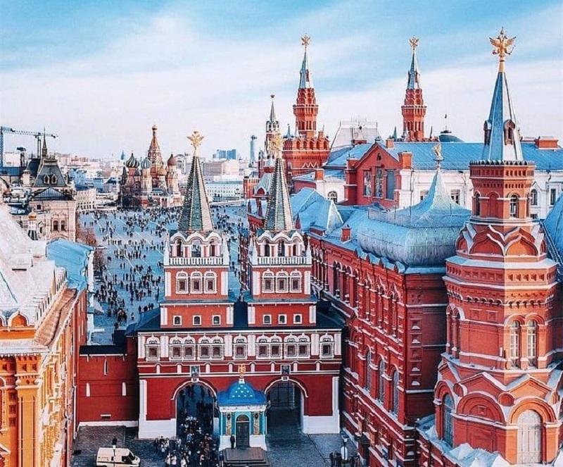 10 любимых мест китайских туристов в Москве - Кремль и Красная площадь
