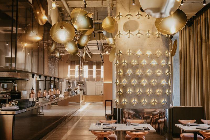 Новое место в Москве: ресторан «Полет» на Ходынке - фото интерьера 2