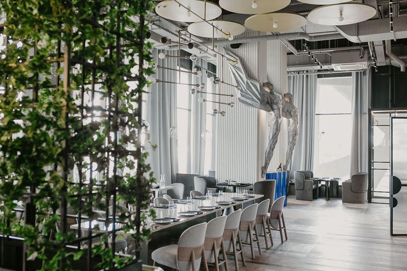 Новое место в Москве: ресторан «Полет» на Ходынке - фото интерьера 1