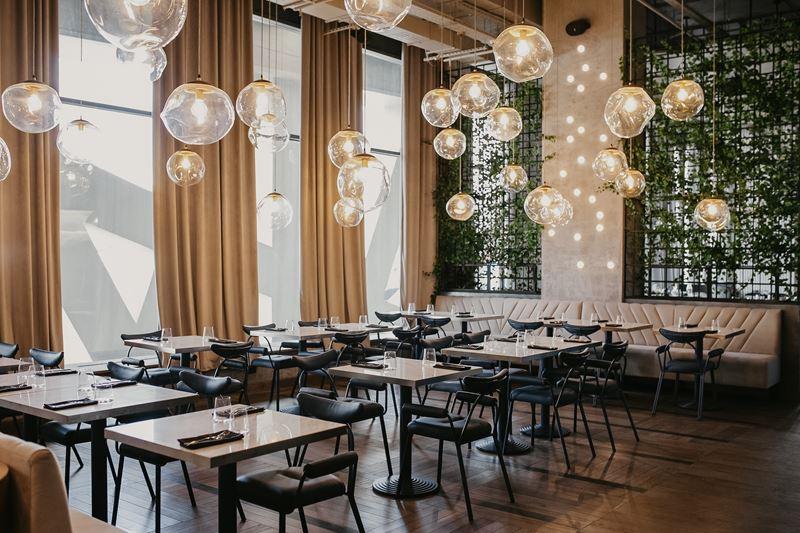 Новое место в Москве: ресторан «Полет» на Ходынке - фото интерьера
