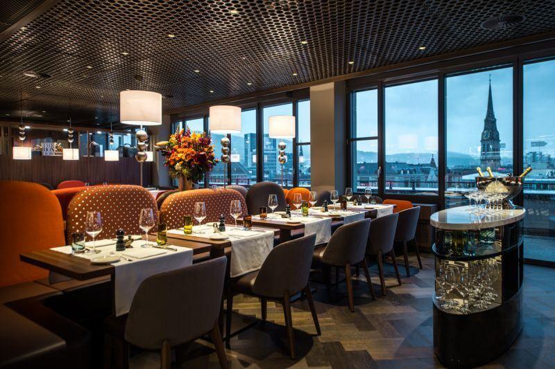 Гастрономический Цюрих: 7 ресторанов с потрясающим видом - George Bar & Grill