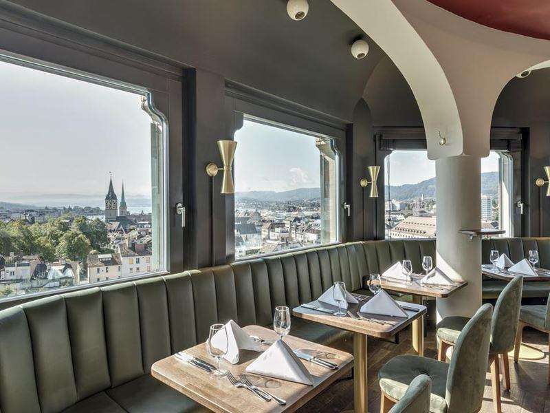 Гастрономический Цюрих: 7 ресторанов с потрясающим видом - Jules Verne