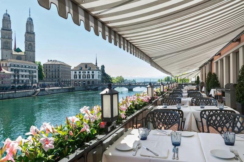 Гастрономический Цюрих: 7 ресторанов с потрясающим видом - La Rôtisserie