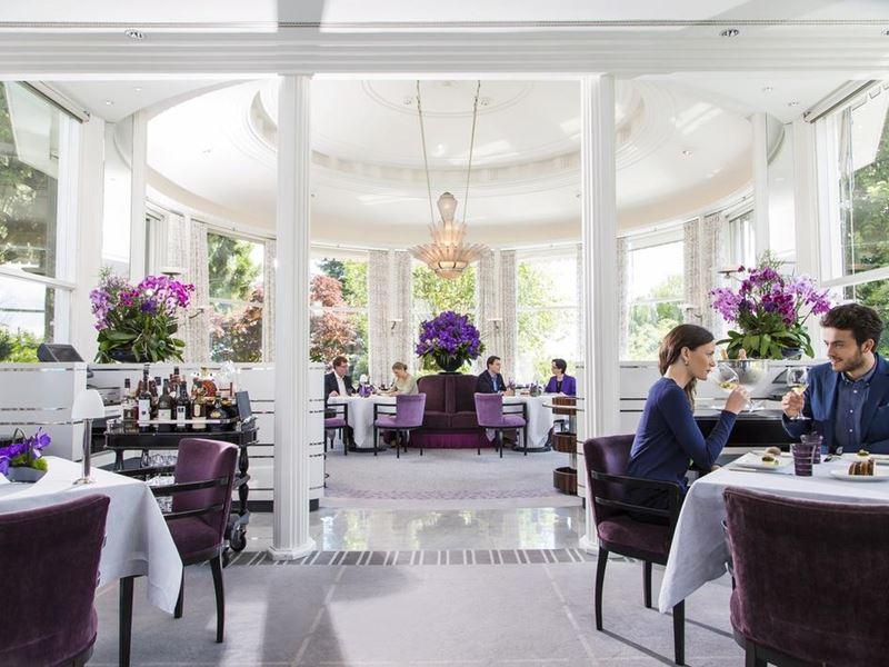 Гастрономический Цюрих: 7 ресторанов с потрясающим видом - Pavillon