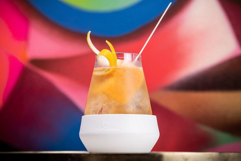 Рецепт коктейля Montmelo Fizz от шеф-бармена ресторана Barceloneta