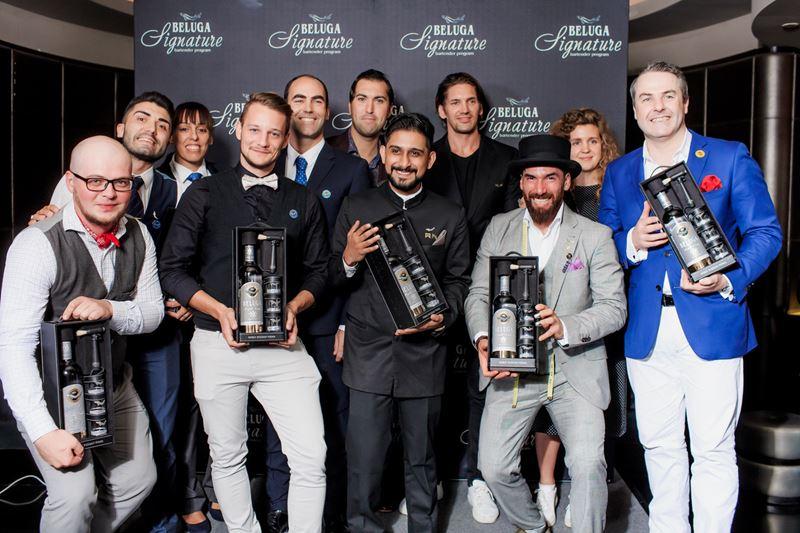 Финалисты и участники международной барменской программы Beluga Signature 2019 - фото 2