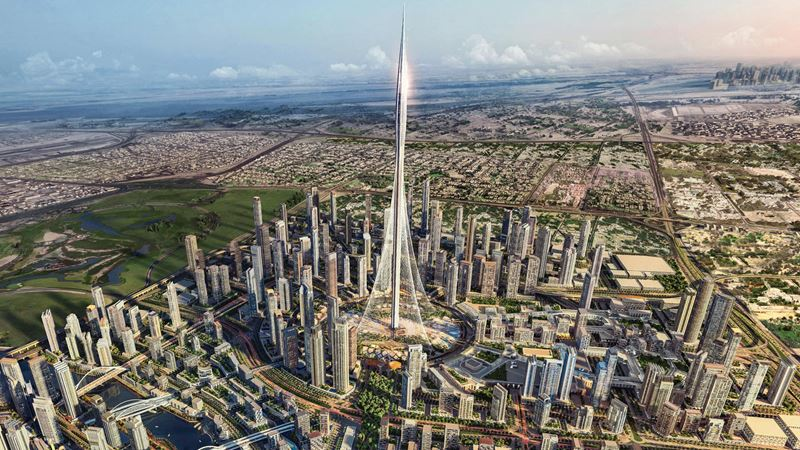 Дубай 2019-2020: новости, итоги, планы - Dubai Creek Tower