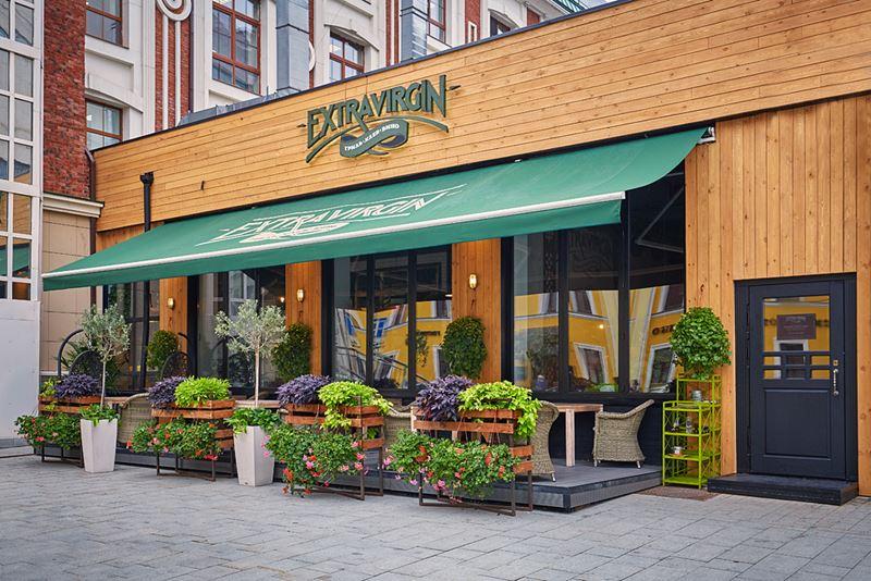 Ресторан средиземноморской кухни Extra Virgin в Москве - фото 1