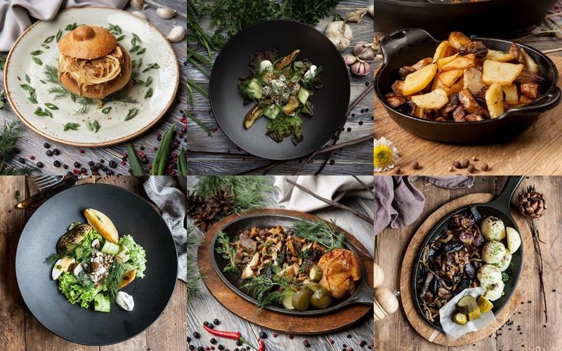 Грибное меню-2019 в ресторане украинской кухни «Шинок»