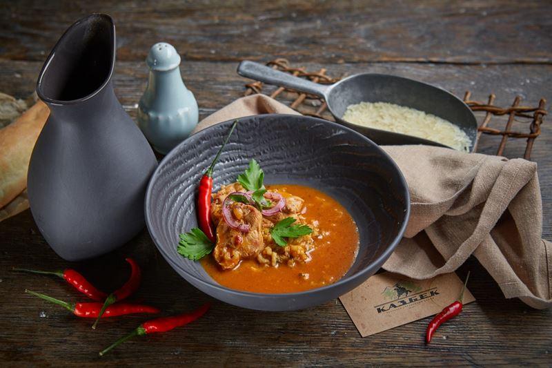 Рецепт супа харчо от шеф-повара ресторана «Казбек» Мамии Джоджуа