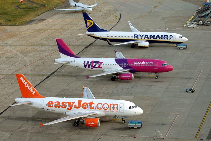 Лоукостеры Ryanair, EasyJet и Wizz Air возможно будут летать из Санкт-Петербурга
