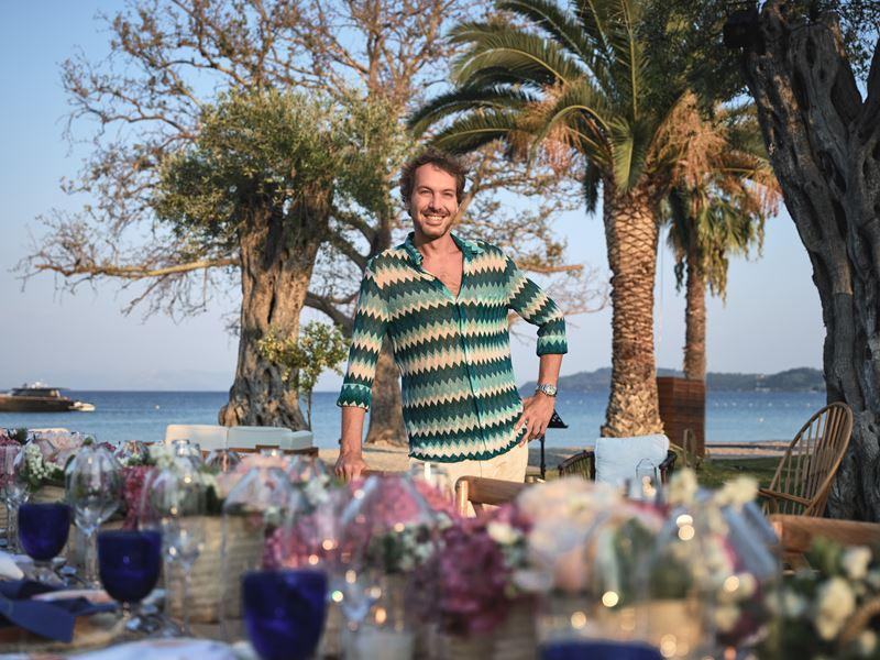 Модный бренд Missoni представил книгу семейных рецептов в отеле Domes Miramare, Corfu