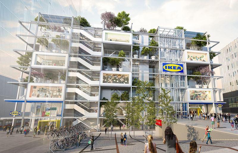 Отель JO&JOE и магазин IKEA объединятся в семиэтажном здании в Вене