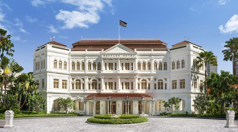 Открытие отеля Raffles Singapore - фото 1