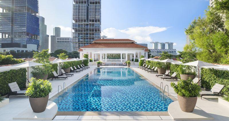 Открытие отеля Raffles Singapore - фото 3