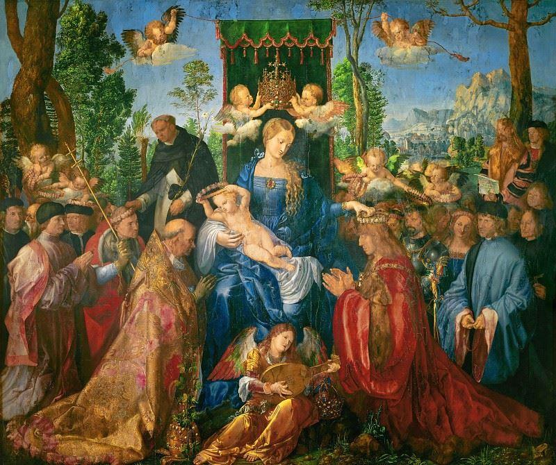 Две выставки в Вене, The Ritz-Carlton, Vienna - «Праздник венков из роз» (Альбрехт Дюрер, 1506)