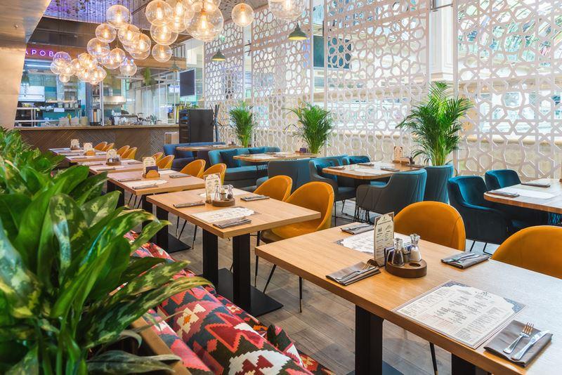 Новое место в Москве: ресторан узбекской кухни «Жаровня. Чайхона» - фото интерьера 1