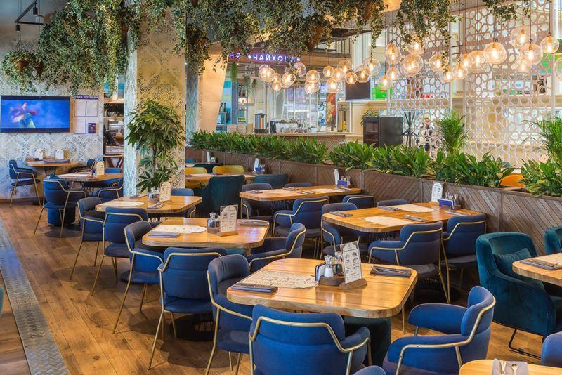 Новое место в Москве: ресторан узбекской кухни «Жаровня. Чайхона» - фото интерьера